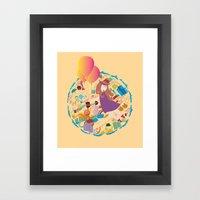 Ambrosia With Balloon Framed Art Print