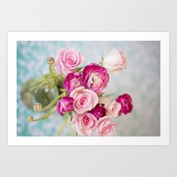 Bunches of Pink II Art Print