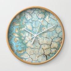 Corroded Beauty Wall Clock