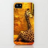 iPhone Cases featuring Giraffes by LudaNayvelt