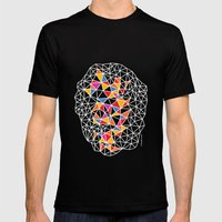 - Virus_01 - Mens Fitted Tee Black SMALL