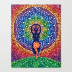 Goddess of the World Canvas Print