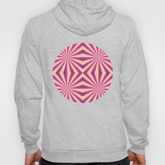 Purple and pale yellow - Geometric game Hoody