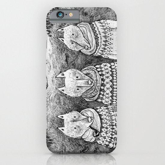 Icelandic foxes iPhone & iPod Case