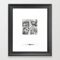 Hrjhg Framed Art Print