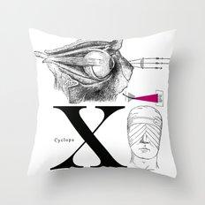Etude - Cyclops Throw Pillow