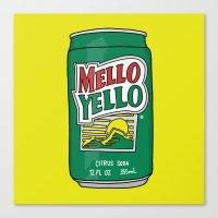 Mello Yello Canvas Print