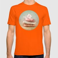 SMARAGD SOFT BALANCE Mens Fitted Tee Orange SMALL