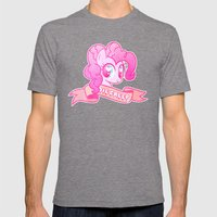 GRUNGE Pinkie Pie Mens Fitted Tee Tri-Grey SMALL