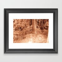 Natural Beauty Framed Art Print