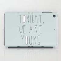 We Are Young (grey & Bla… iPad Case