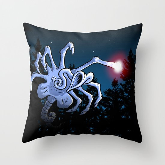 bring out the hurt light ... Throw Pillow