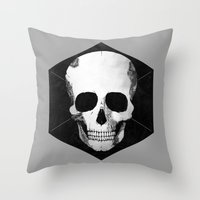 DIEmension Throw Pillow