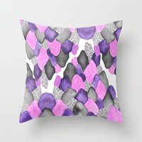 One Day I Will Grow Wing… Throw Pillow