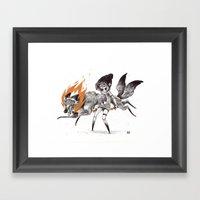 Kludde Framed Art Print