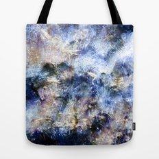 Blue Textures Tote Bag