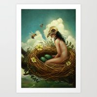 The Nest Art Print