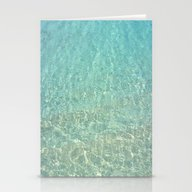 Colors Of The Sea Water … Stationery Cards
