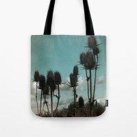 Prickly Teasels  Tote Bag