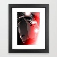 Dark Side (Kylo Ren) Framed Art Print
