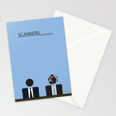 Scanners - Altenative Movie Poster Stationery Cards