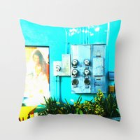#KEY WEST POETRY By Jay … Throw Pillow
