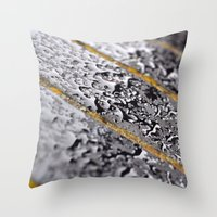 {rain} Throw Pillow