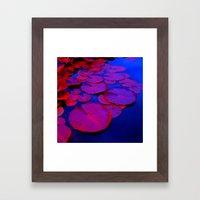 lily pads I Framed Art Print
