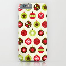 Christmas Baubles Slim Case iPhone 6s