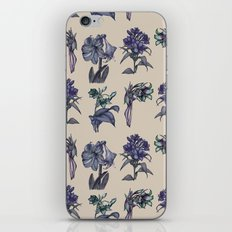 Botanical Florals | Vintage Blueberry iPhone & iPod Skin
