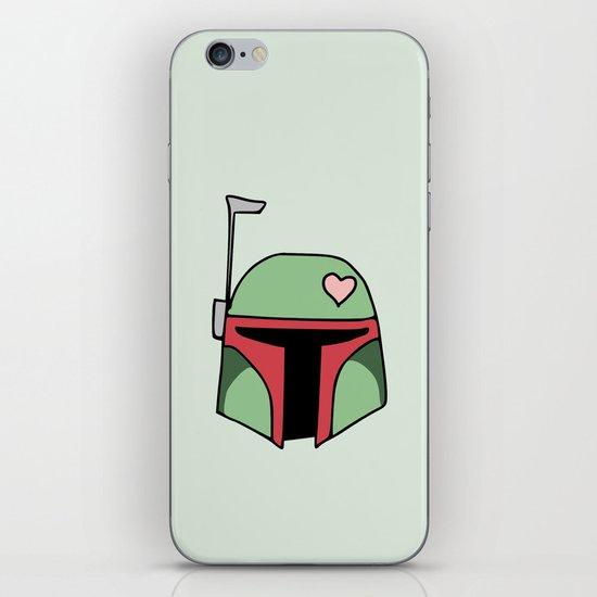 Boba Fett Valentine iPhone & iPod Skin
