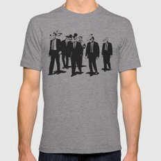 Walt's Protection Crew Mens Fitted Tee Athletic Grey SMALL