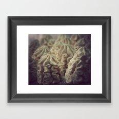 Meringue Kisses Framed Art Print