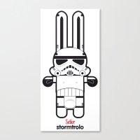 Sr. Trolo / Stormtropper Canvas Print