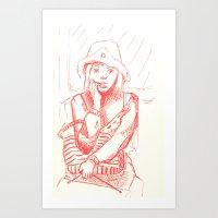 cris I Art Print