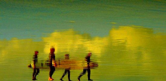 The long walk Art Print