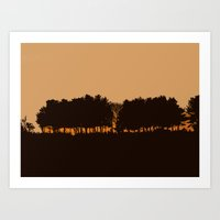 Harvey's Neck Sunset Art Print
