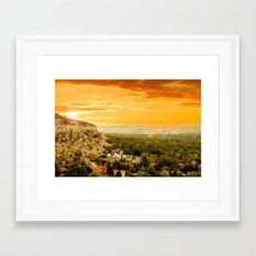 Billings Montana 5 Framed Art Print