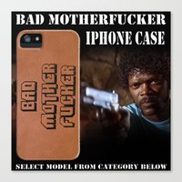 Bad Motherfucker iPhone case Canvas Print