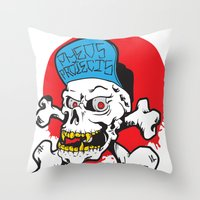 pheo projects Throw Pillow