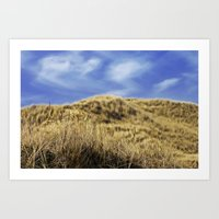 Dune landscape Art Print