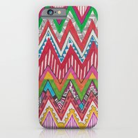 iPhone & iPod Case featuring Peruvian Waves by Vasare Nar