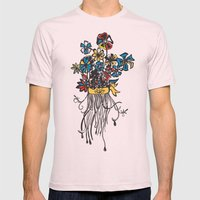Bouquet - Skal Mens Fitted Tee Light Pink SMALL