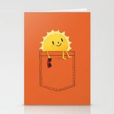 Pocketful of sunshine Stationery Cards