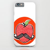 apple iPhone & iPod Cases featuring Apple by Ilariabp.art