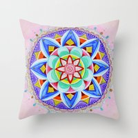'We Are One' Mandala Throw Pillow