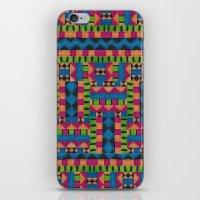 kiwi tribe iPhone & iPod Skin