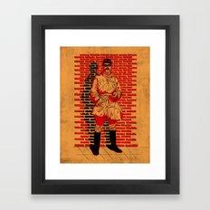 Five Minute Break!  Framed Art Print