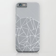 Ab Linear Grey iPhone 6s Slim Case