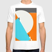 Spot Slice 04 Mens Fitted Tee White SMALL